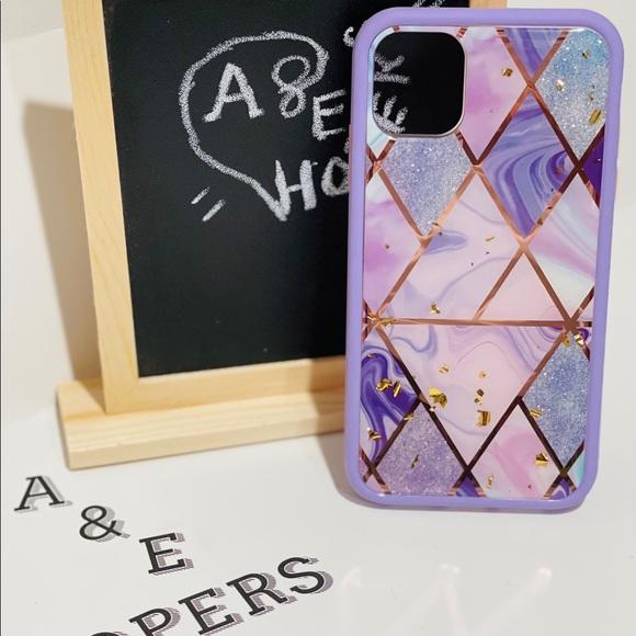 Heavy duty design case for iPhone 11(purple)
